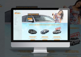 Design de site web pour courtier automobile à Dorval